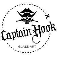 Captain Hook Glass Art